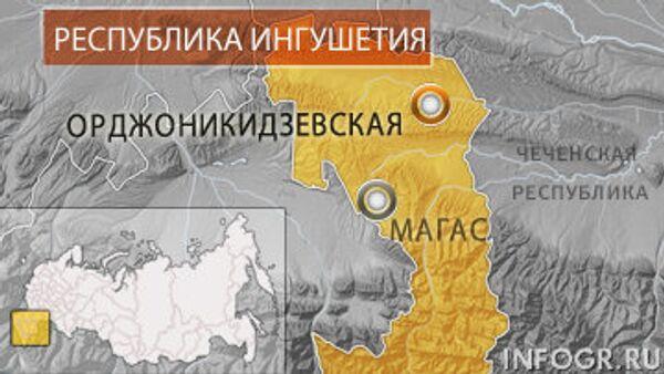 Станица Орджоникидзевская. Карта