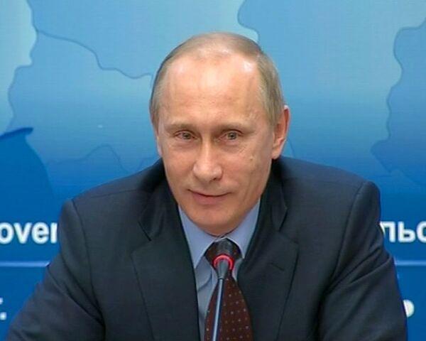 Путин рассказал чиновникам шпионский анекдот на злобу дня
