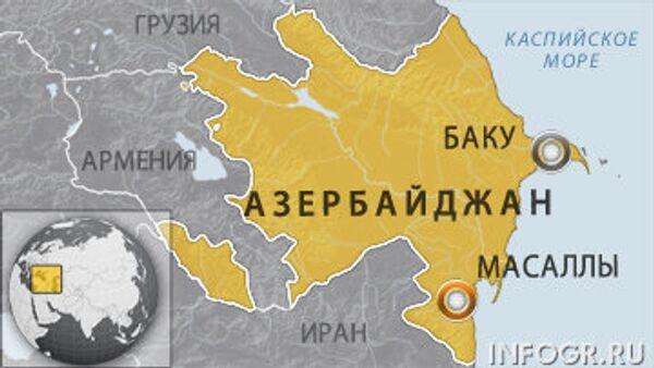 Взрыв произошел в здании телекоммуникационной связи в Азербайджане
