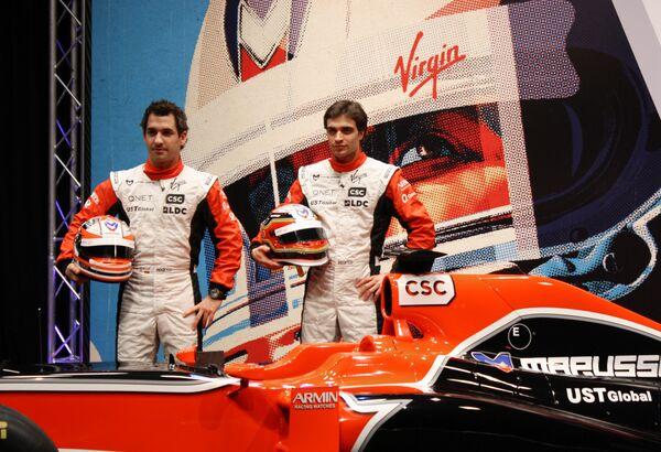 Тимо Глок и Жером Д'Амброзио (слева направо)