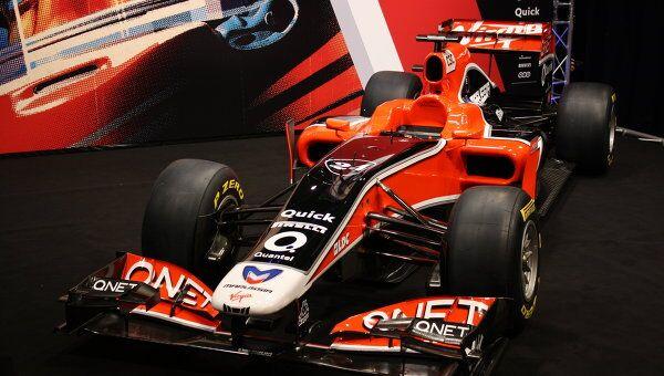 Российская команда Формулы-1 показала свой новый болид MVR-02