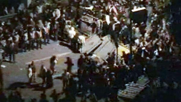 Сотни тысяч египтян выступили против заявления Мубарака