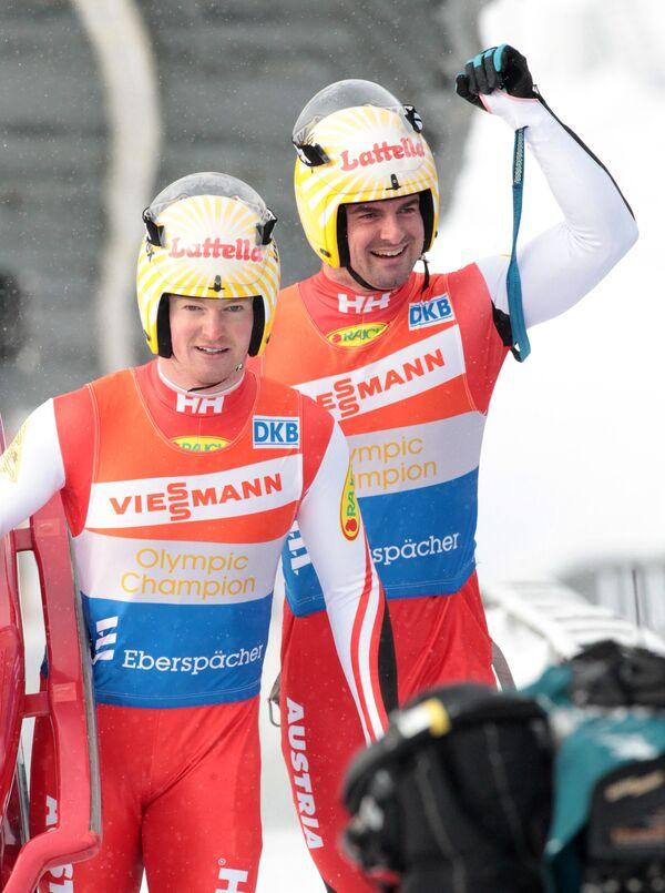 Андреас и Вольфгант Лингеры (слева направо)