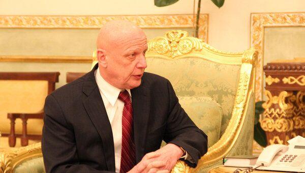 Специальный представитель президента России по Ближнему Востоку, заместитель главы МИД РФ Александр Салтанов