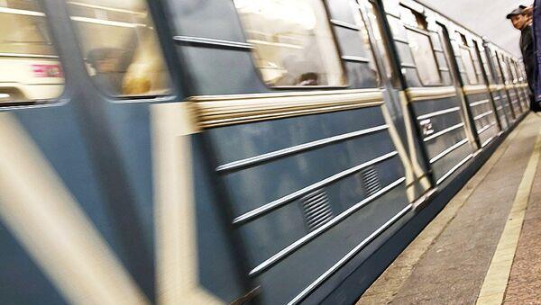 Вагон метро, архивное фото