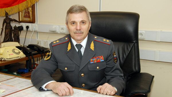 Начальник Департамента собственной безопасности МВД России Юрий Драгунцов