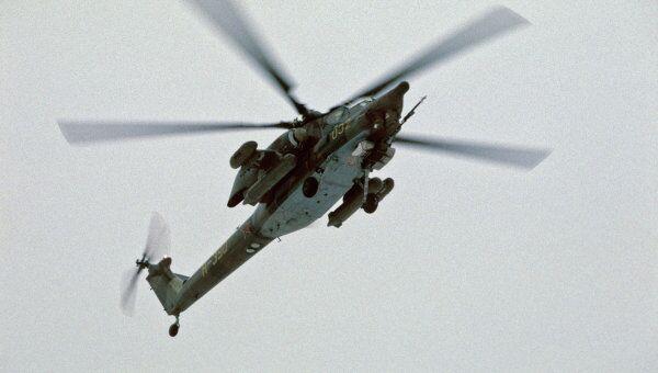Боевой вертолет Ми-28. Архив