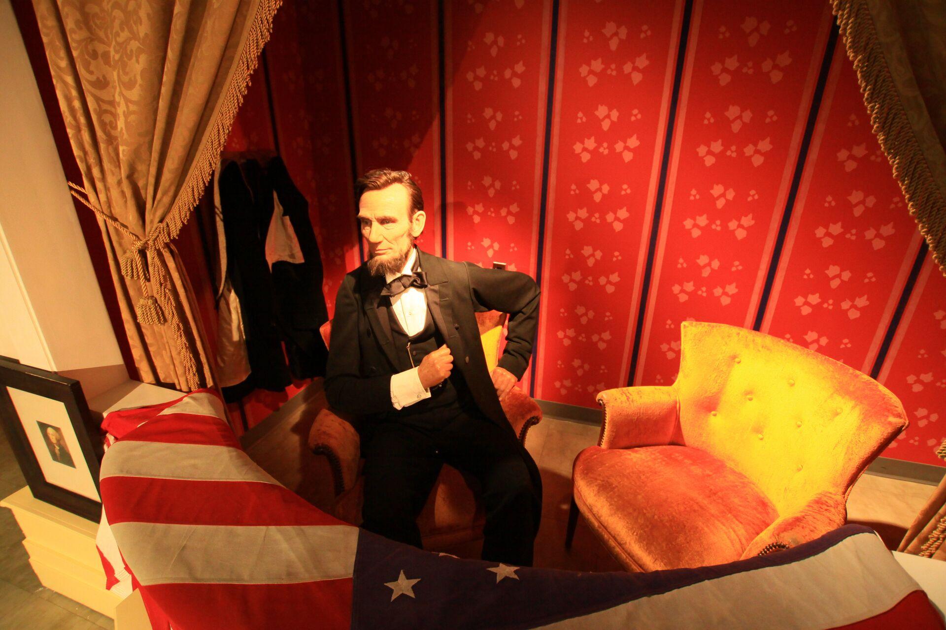 Все президенты США встретились в музее мадам Тюссо в Вашингтоне - РИА Новости, 1920, 06.04.2021