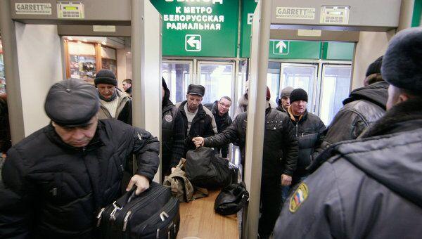 На вокзалах Москвы началась установка систем безопасности