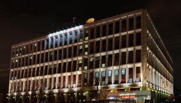 Здание Министерства внутренних дел РФ