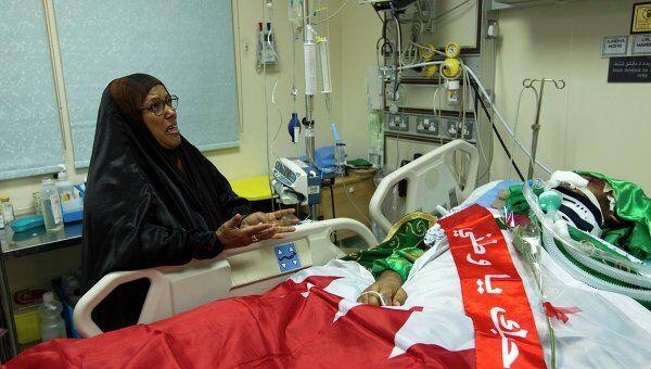 Пострадавшие в результате беспорядков в Бахрейне