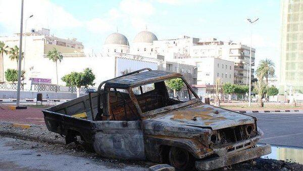 Последствия беспорядков в Ливии