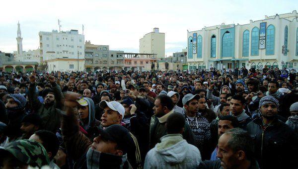 Беспорядки в Ливии
