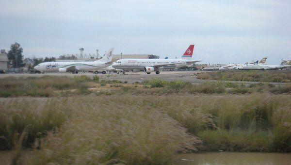 Эвакуация из Ливии иностранных граждан. Международный аэропорт в Триполи