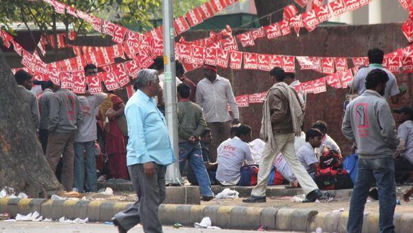 Массовые протесты в Индии. Архивное фото