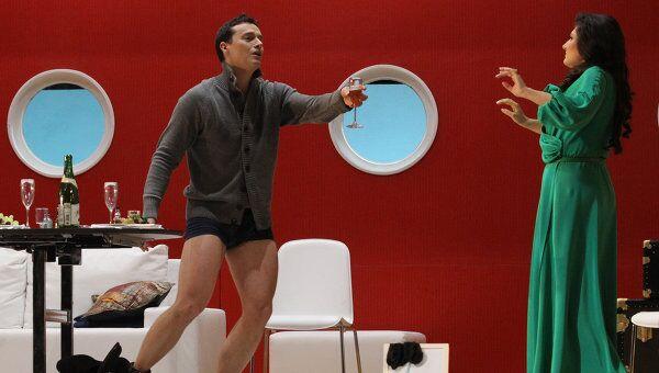 Презентация оперетты Летучая мышь в Большом театре