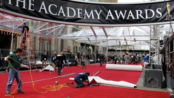 Подготовка к церемонии Оскар в Лос-Анджелесе