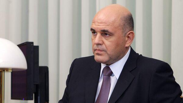 Глава Федеральной налоговой службы Михаил Мишустин. Архив