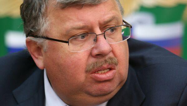 Глава Федеральной таможенной службы Андрей Бельянинов. Архивное фото