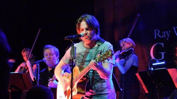 Рей Уилсон, солист британской рок-группы Genesis