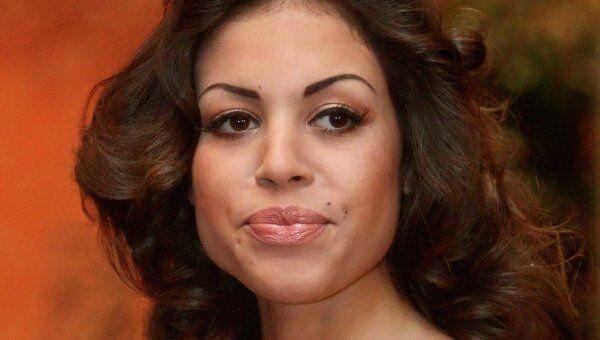 Марокканка Карима эль-Маруг по прозвищу Руби на Венском Оперном балу в Вене