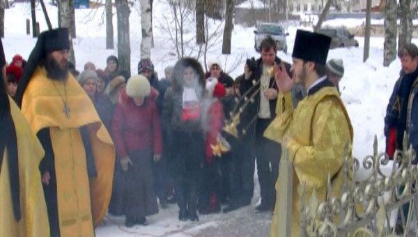 Жители села Вятское реконструировали отмену крепостного права