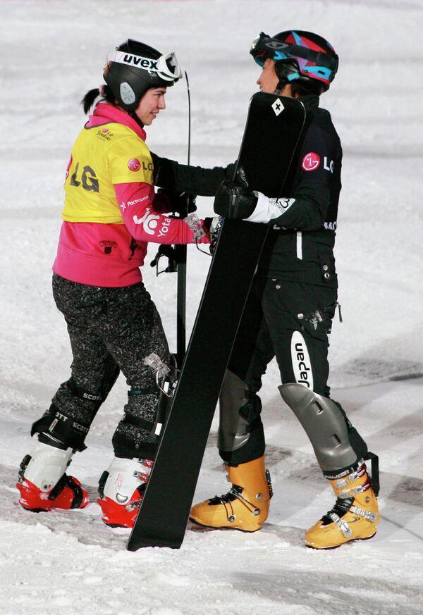 Екатерина Тудегешева (слева) и Томоку Такеучи