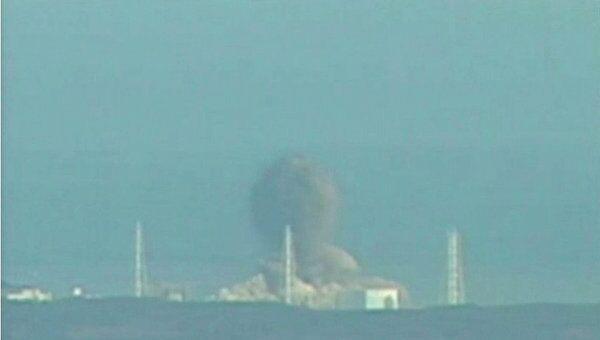 Ситуация на японской АЭС Фукусима-1 после взрыва на третьем реакторе