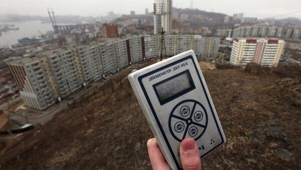 Замеры уровня радиации
