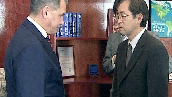 Шойгу предложил незамедлительно привезти в Японию два мобильных госпиталя