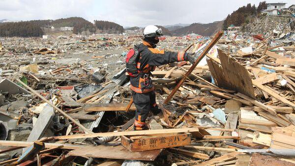 Последствия землетрясения в Японии. Архив