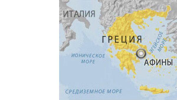 Женщина погибла при взрыве в Афинах