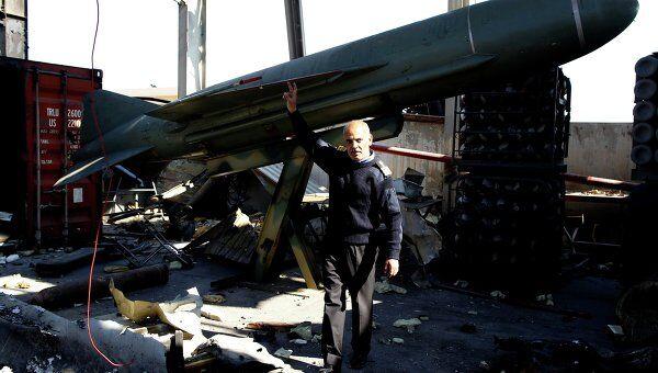 Международная коалиция разбомбила военную базу близ Триполи
