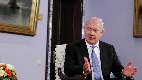 Биньямин Нетаньяху, архивное фото