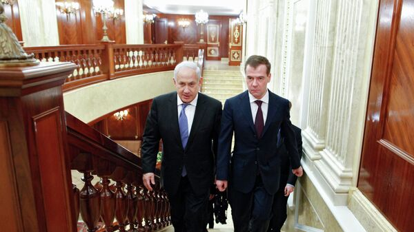 Дмитрий Медведев и Биньямин Нетаньяху. Архивное фото