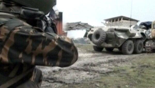 Ликвидирована база террористов-смертников в Ингушетии. Оперативное видео