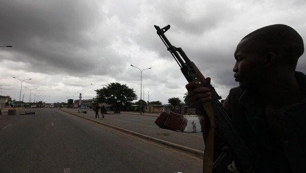 Войска, поддерживающие режим Ассалана Уаттаре в Кот-д'Ивуар
