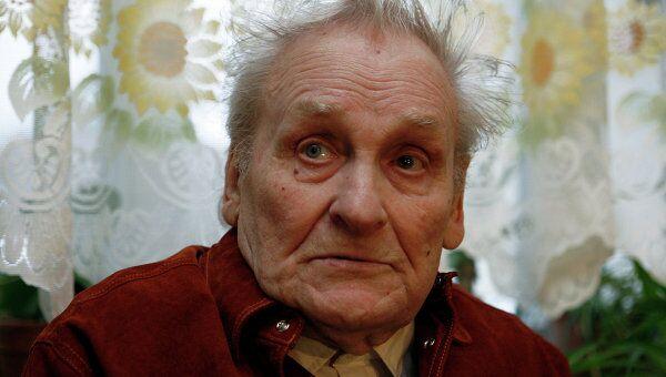Бывший советский партизан Василий Кононов
