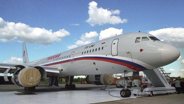Самолет Ту-214. Архив