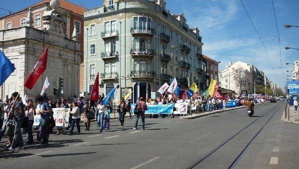 Демонстрация в Лиссабоне