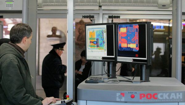 Открытие досмотровых павильонов для пассажиров поездов Сапсан на Ленинградском вокзале в Москве