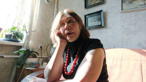 Журналистка Наталья Сейбиль, обвинившая начальника городского отдела внутренних дел города Московский Алексея Климова в избиении