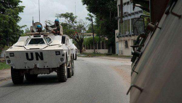 Силы ООН в Кот-д'Ивуаре