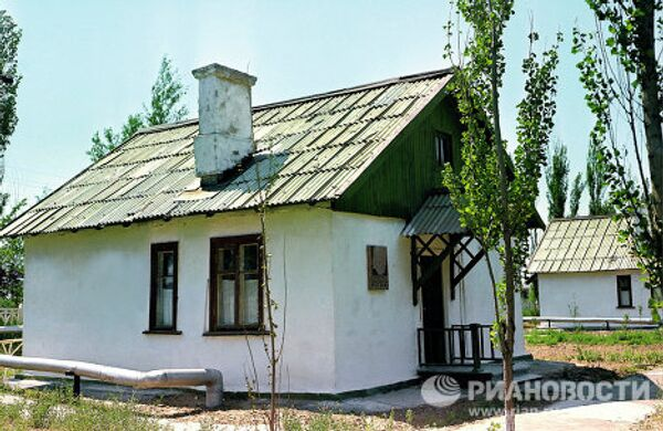 Дом, где провёл ночь перед полётом Ю.Гагарин