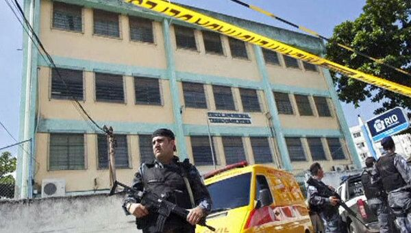 В результате стрельбы в школе Рио-де-Жанейро погибли 11 человек