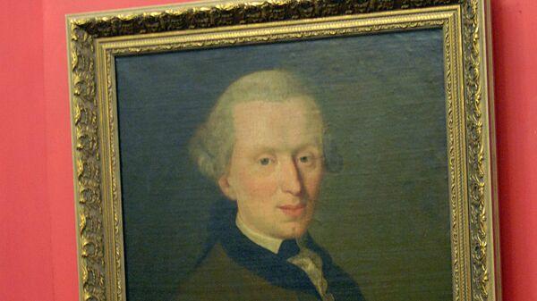Портрет Иммануила Канта. Архивное фото