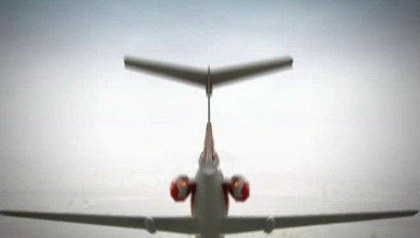 Реконструкция крушения польского самолета Ту-154 под Смоленском