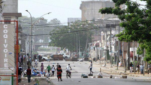Ситуация в Абиджане