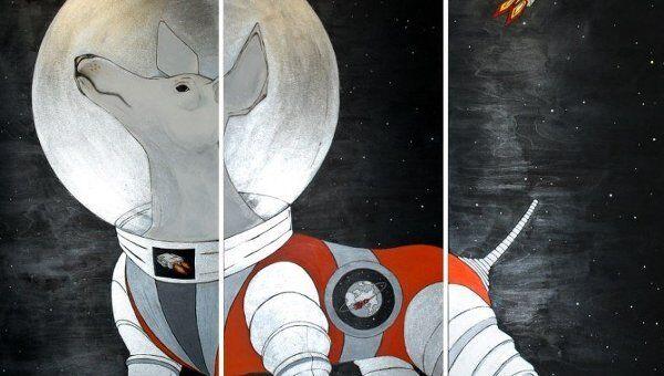 Космическая выставка Кирилла Рубцова