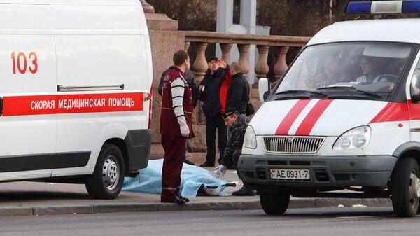 Машина скорой помощи в Белоруссии
